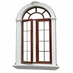 Fortune Modern Designer Aluminium Casement Window, For Residential
