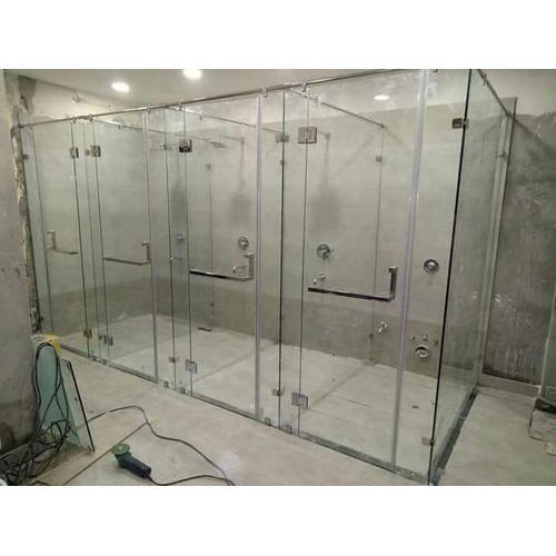 Gym bathroom glass at rs 450 feet डेकोरेटिव गिलास
