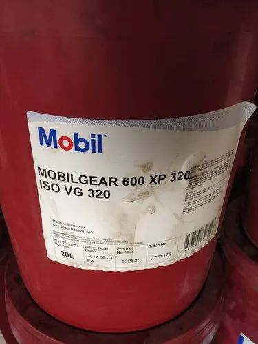 Compressor Oil Mobil Gear 600 Xp 320 Unit Pack Size 20ltr Rs 260 Litre Id 20824964373