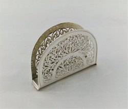 Pure Silver Designer Napkin Holder