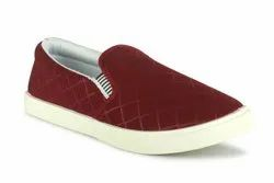 c 2 Hike Diamond Red Canvas Shoes