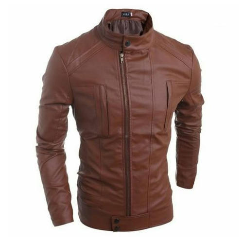 22 34 Casual Wear Mens Leather Winter Jacket Rs 930 Piece Id