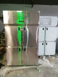 Four Door Steel Refrigerator