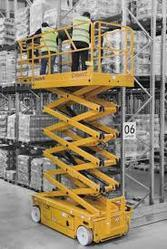 Self Propelled Scissor Lift for Metro