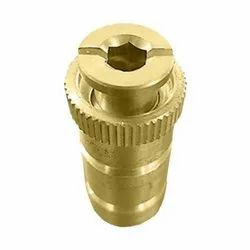 MISTCOOLING Gold Brass Pool Cover Anchor, Size: 12 X 1 X 10 Inches