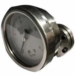 Stainless Steel Chemical Sealed Diaphragm Pressure Gauge