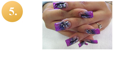 Nail Enhancement Acrylic In Mumbai Malad W By Bellissimo Nail Spa