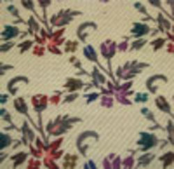 Multicolor Printed Printted Silk Textile