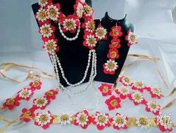 Artificial Red Flowers Jewellery