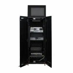 42U Rack with Cooling, 330kg, Model Name/Number: ECX-AOIB-3K50-42U