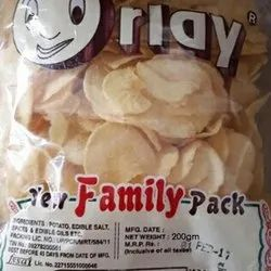 200 gm Orlay Salty Potato Chips, Packaging Type: Packet