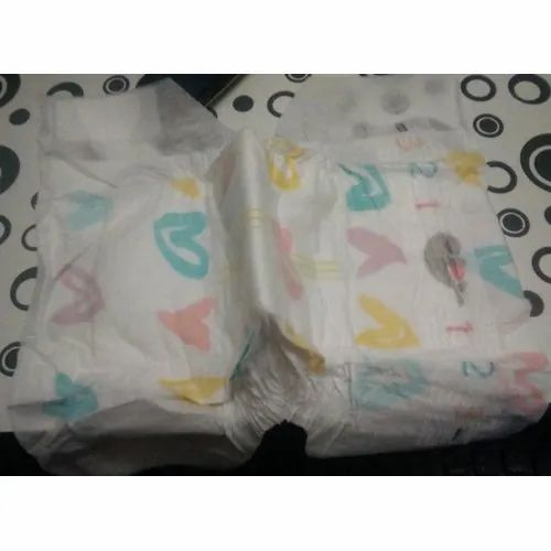 Cotton Disposable Baby Diapers, Age Group: 3-12 Months, Size: Small