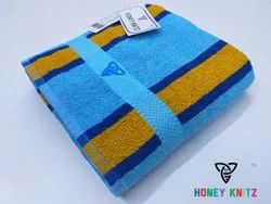 Printed Multicolor Luxury Terry Towels, Size: 30 With 60 Length