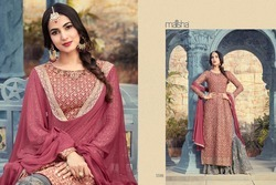 Georgette Designer Wedding Wear Pakistani Suit