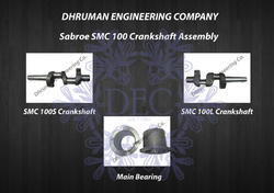Sabroe SMC 100 Crankshaft Assembly