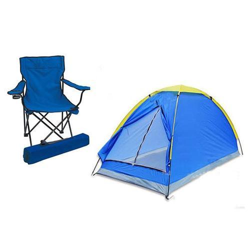 Swell Outdoor Camping Two Person Folding Tent And Chair Lamtechconsult Wood Chair Design Ideas Lamtechconsultcom