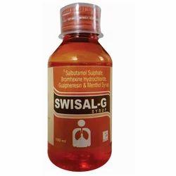 Salbutamol Sulphate Bromhexine Menthol Syrup