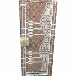 Brown Designer Plastic Door, Size/dimension: 30x72 Inch