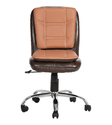 Brown and Chesnut Color LB Workstation Chair