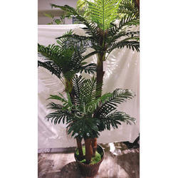 Dypsis Lutescens Green Artificial 1.8 Meter Areca Palm Plant For Decoration