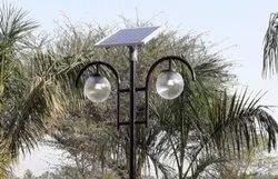 Solar Double Garden Light 12w