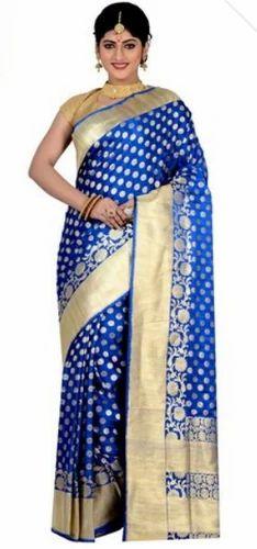 cdcc85302da65 Royal Blue Saree at Rs 14890  unit