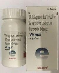 Viropil (Dolutegravir, Lmivudine & Tenofovir Disoproxil)