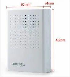 Navkar White ACCESS CONTROL DOOR BELL, for Home, Size: 88 X 24 X 62 Mm