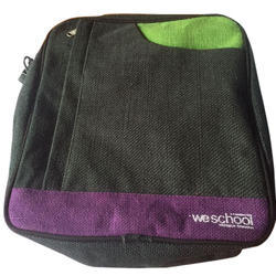 Black School Bag, Size: Medium