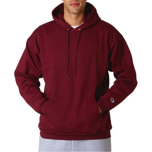 Mens Maroon Full Sleeves Hoodies, Size: S-XL, Rs 450 /piece Global Fashion  Company | ID: 20139827912
