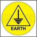 Round 590662 Earth Label