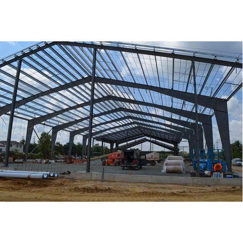 Metal Prefabricated Structure Shed, Rs 240 /square Feet