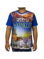Sublimation Printed Mens T Shirt