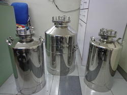 Sanipure Stainless Steel Pressure Vessel, Capacity: 1000-10000L and 100-500 L