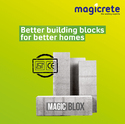 Rectangle Magicblox (magicrete Aac Blocks), Size (inches): 9 X 3 X 2