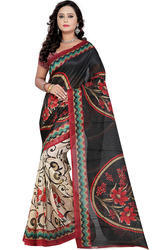 Women 's Printed Bhagalpuri Saree