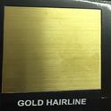Gold Hairline Designer Sheet