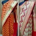 Zari Casual Fancy Banarasi Katan Silk Saree, With Blouse Piece, Machine Wash
