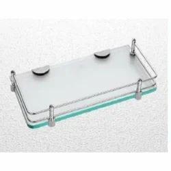 12x6 Clear Glass Shelf