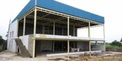 Panel Build Steel Industrial Sheds for House