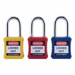 KRM With Key Safety Loto Padlocks, HDPE
