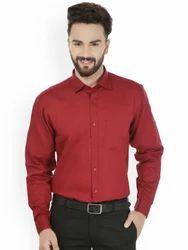 Mens Full Sleeves Formal Plain Shirts