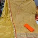 Cotton Salwar Suit With Hand Work