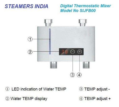 steamers india digital thermostatic mixing valve, sijfb00