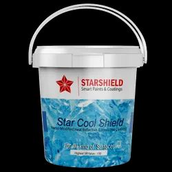 Star Thermal Shield for Heat Resistant Air Drying Coating