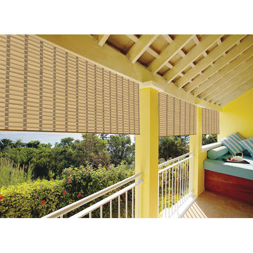 Horizontal Exterior Balcony Pvc Blinds Rs 125 Square Meter Aaron