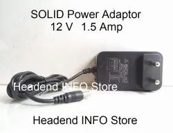 Wired SOLID 12 Volt Power Adaptor For Set Top Boxes