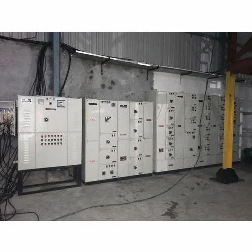 Mild Steel Three Phase Control Panel