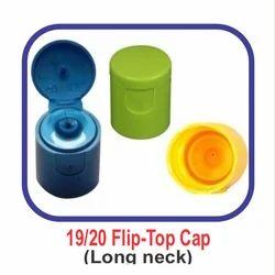 PP Yellow, Green. Blue Long Neck Flip Top Edible Oil Cap