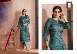 Kessi Fabric Dark Fantasy Vol-6 Georgette Kurti